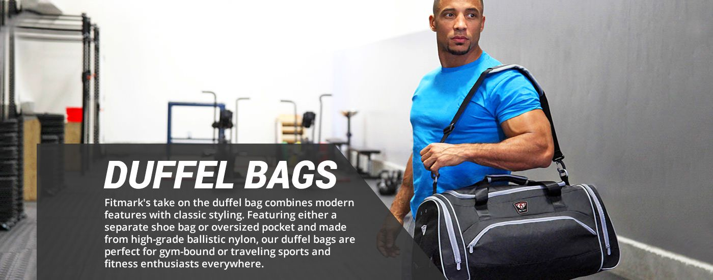 The Transporter Duffle Black taška na jedlo na cvičenie