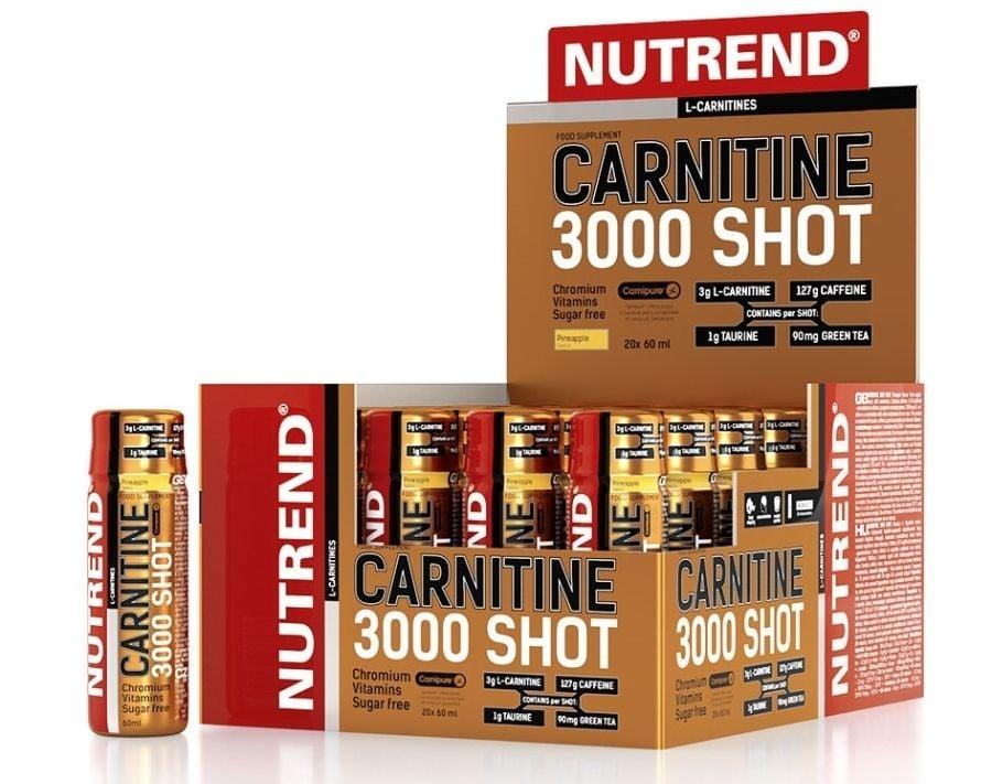 Carnitine 3000 Shot nutrend