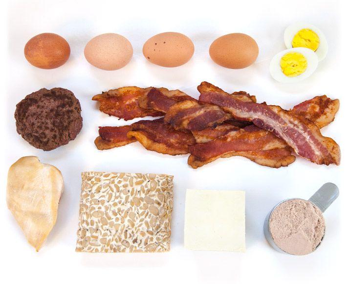 ako vyzerá 30 gramov bielkovín?