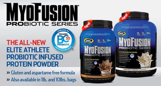 myo fusion probiotic gaspari proteín