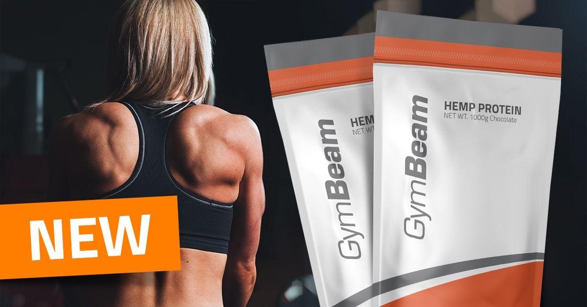 Konopný protein - GymBeam
