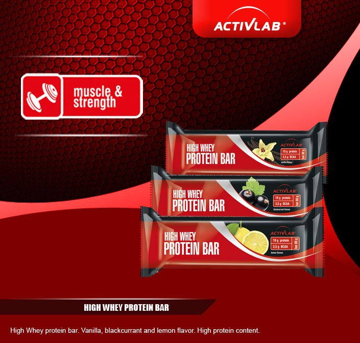 High Whey Protein Bar ActivLab