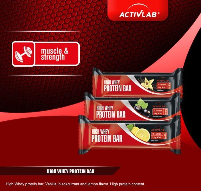 High Whey Protein Bar ActivLab