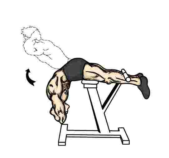 Hyperextenzné cvičenie na bolesti chrbta
