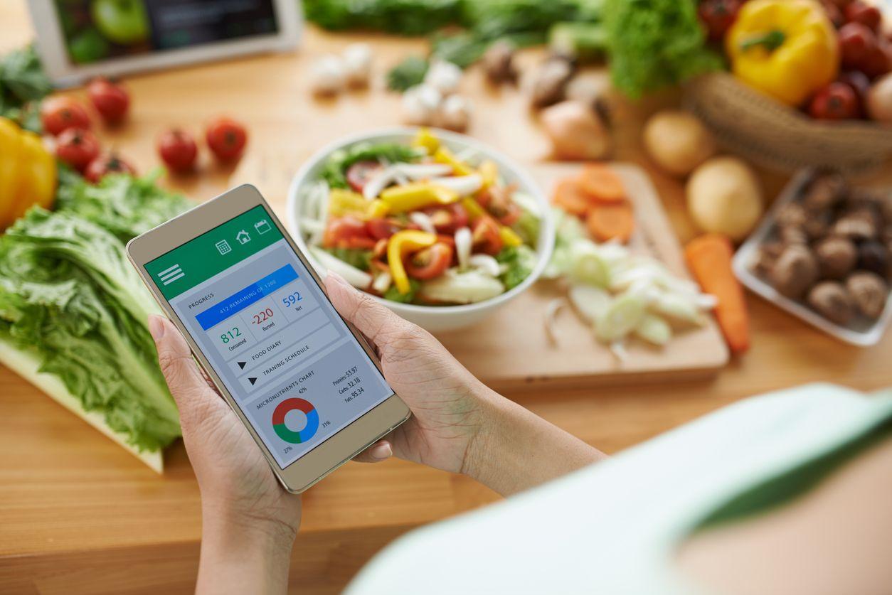 aplikácie na trackovanie jedál - počítanie kalórií hrou