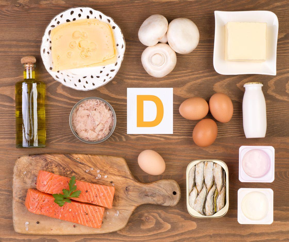 Vitamín D zdroje potravinové