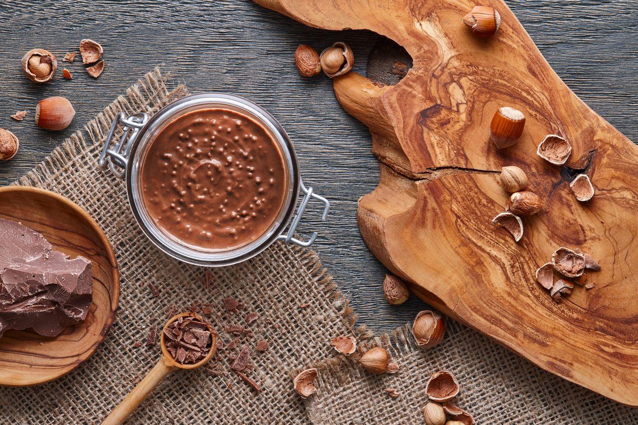 hazelnut spread gymbeam - proteínové lieskové maslo z lieskových orechov