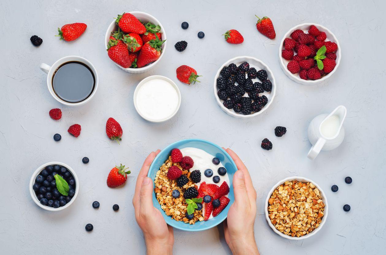 ako počítať kalórie - grécky jogurt