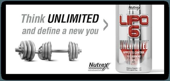 Spaľovač tukov Lipo 6 Unlimited reklamné foto