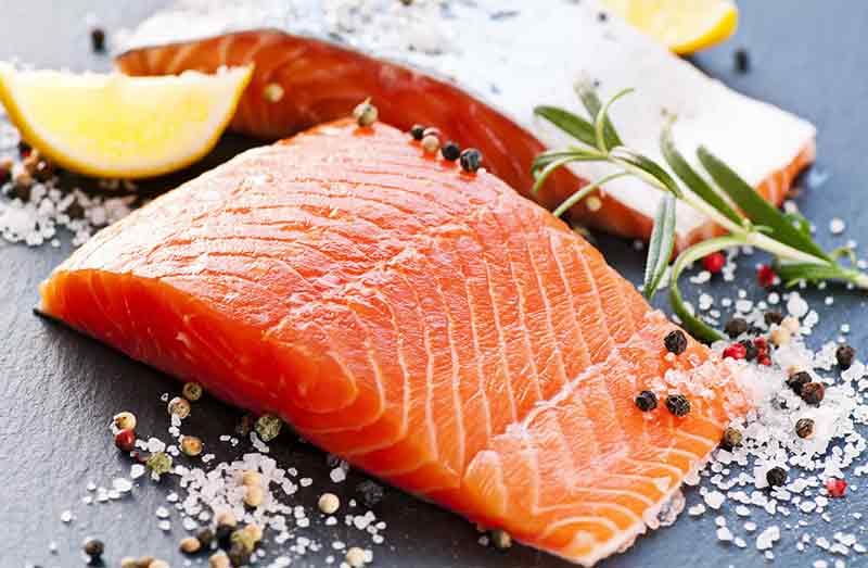 Losos omega-3 mastné kyseliny rybí olej