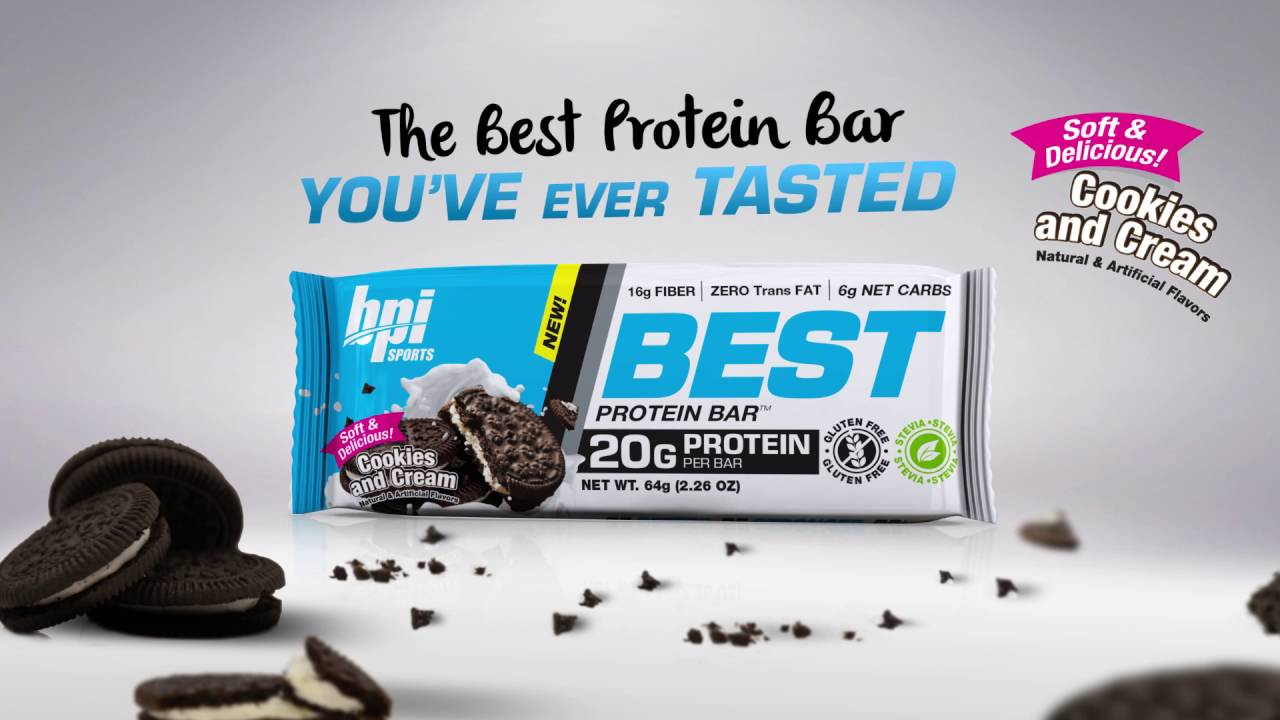 Best Protein Bar - BPI Sports proteínová tyčinka