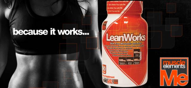 LeanWorks komplexný spaľovač tukov