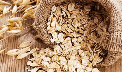 NajvhodnejŠie potraviny na vyrysovanie teplé ovsené vločky