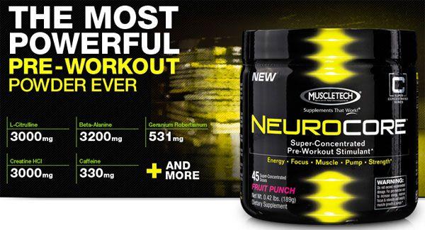 neurocore predtréningový stimulant