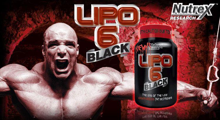 Gymbeam Lipo 6 Black Nutrex