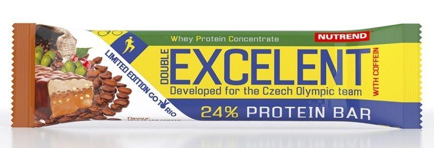 Proteínová tyčinka Excelent s kofeínom