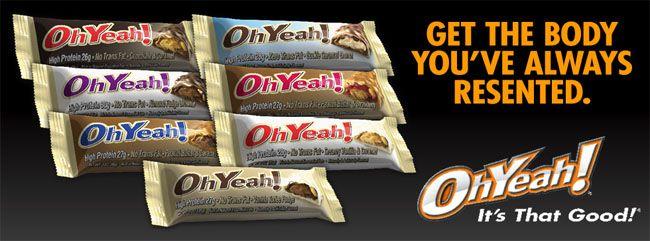 Oh Yeah! - oh yeah nutrition proteínová tyčinka