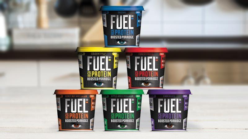 Porridge Pot fuel10k proteínová ovsená kaša