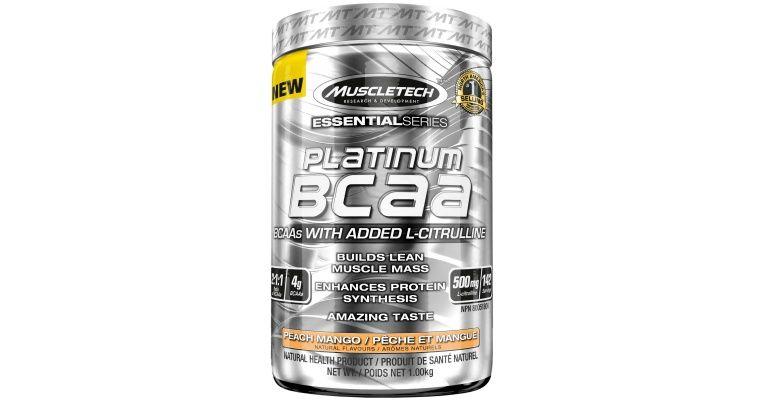 Platinum BCAA MuscleTech