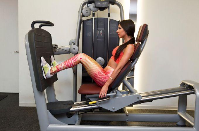 Jen Selter tréning na zadok