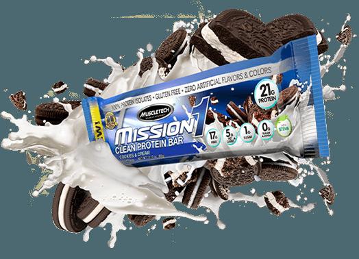 mission 1 proteínová tyčinka