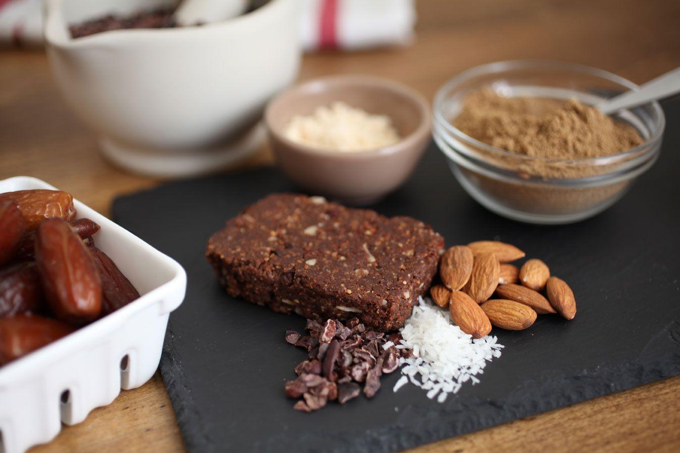 Recept homemade proteínové tyčinky