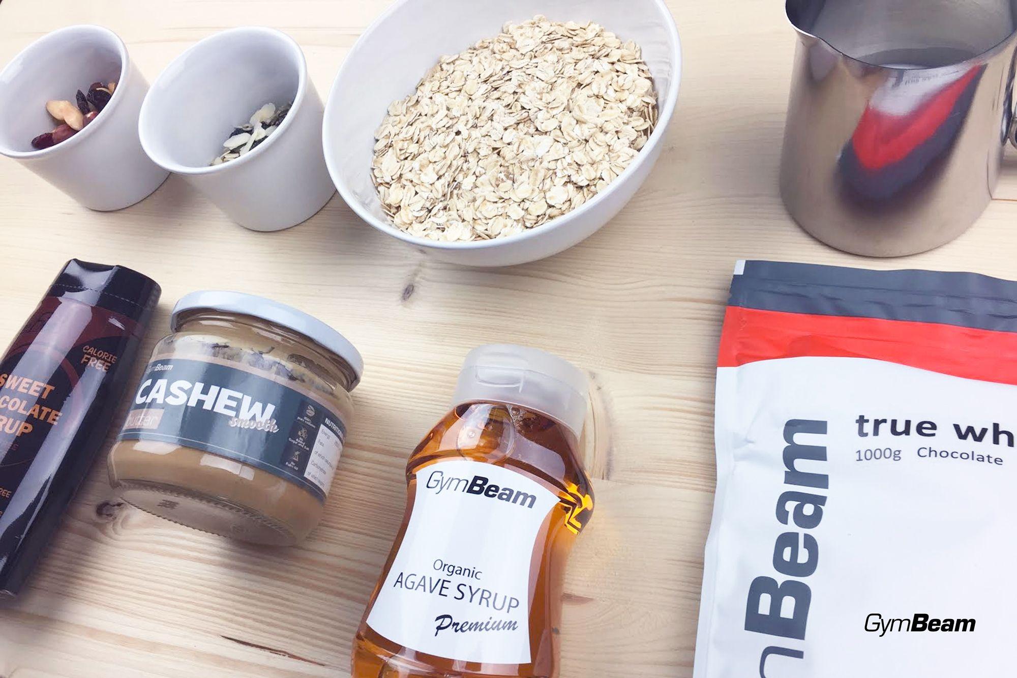 Recept na nepečené proteínové tyčinky s arašidovým maslom