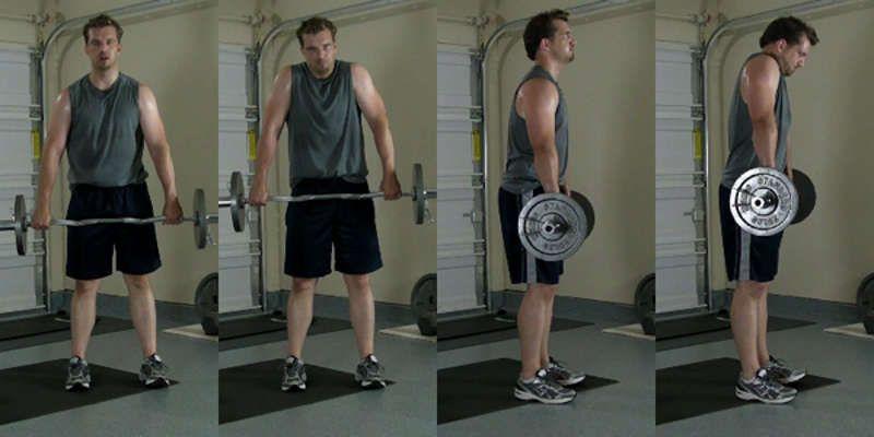 15 najzbytočnejších cvikov dvihanie ramien s jednoručkami