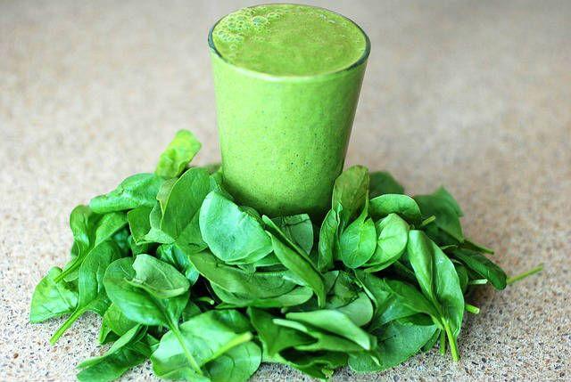 sladký špenátový smoothie recept
