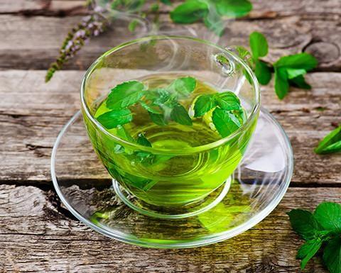 stévia čaj na trávenie