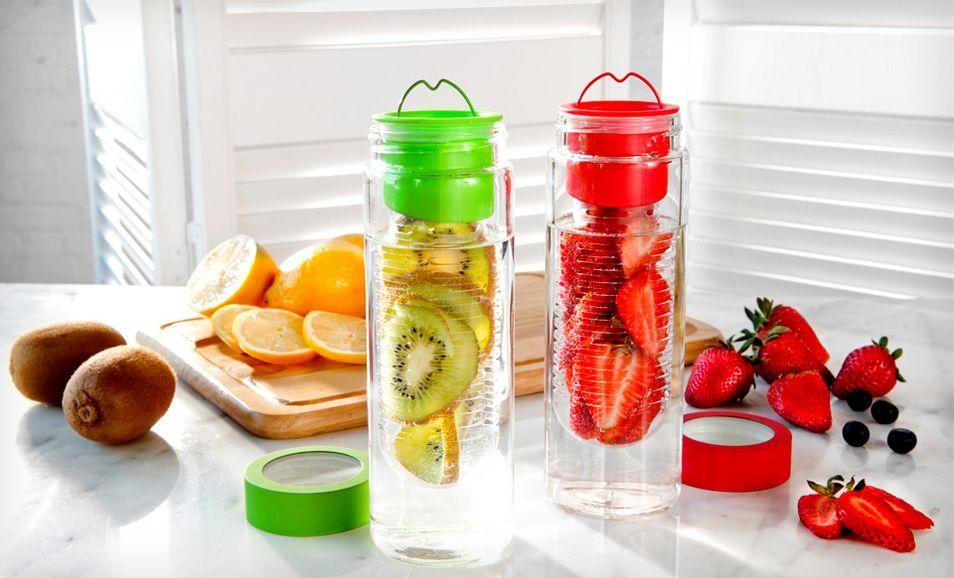 Fruit Infuser fľaša na lúhovanie ovocia