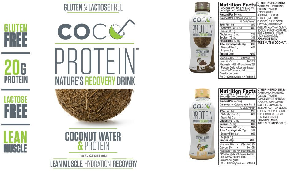 coco protein recovery drink rtd nápoj