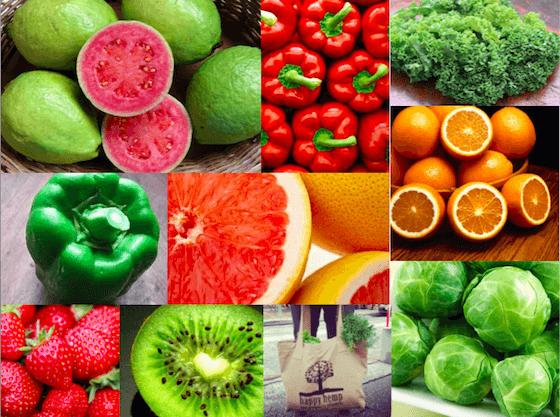 vitamín c zdroje v potravinách potraviny