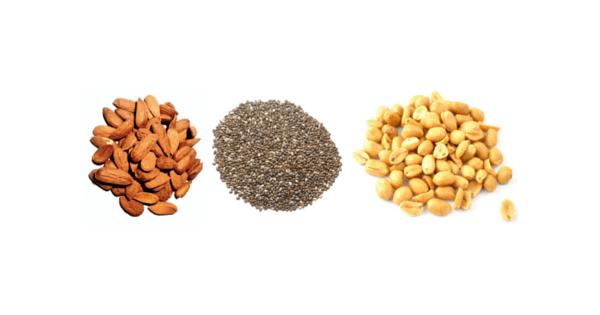 Orechy a semienka