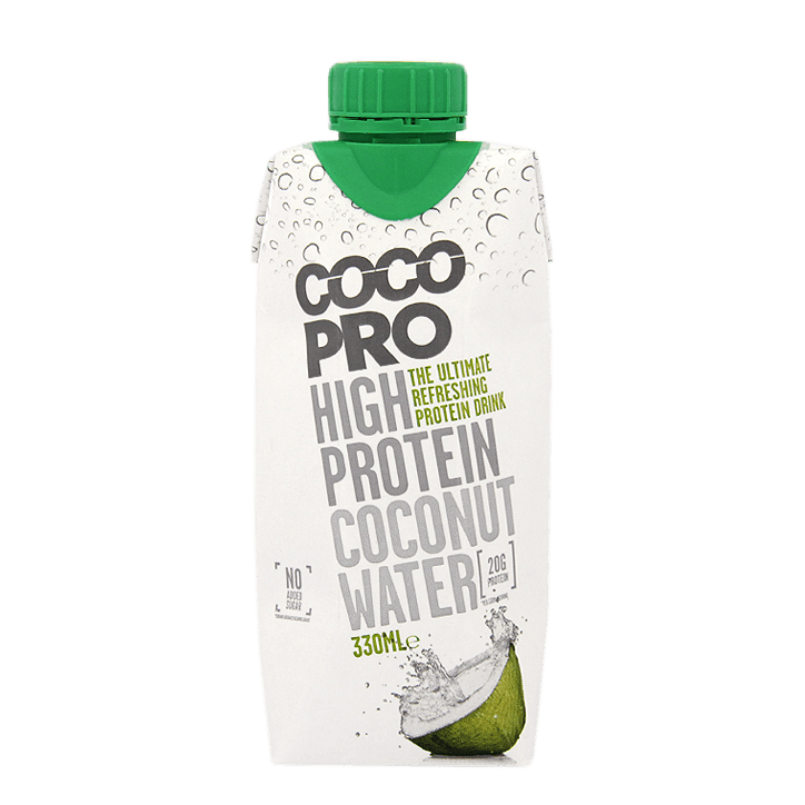 CocoPro High Protein Coconut Water 330 ml - pineapple