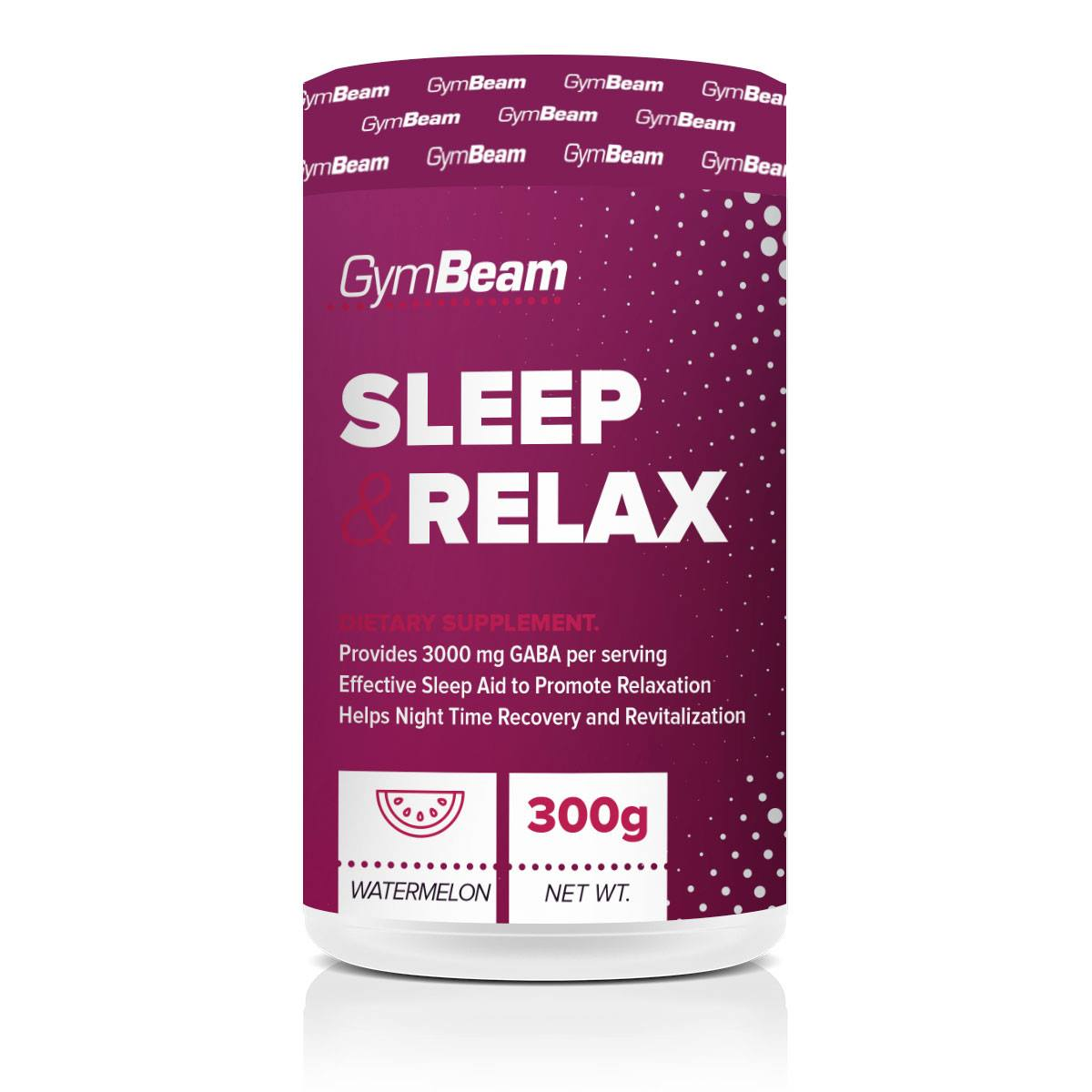 GymBeam Sleep  Relax 300 g - fruit punch