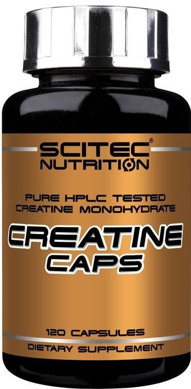 Kreatín 120 kaps - Scitec Nutrition unflavored