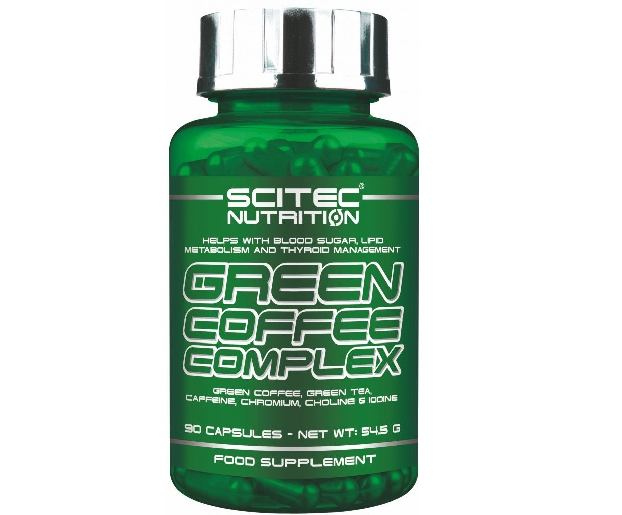 Green Coffee Complex 90 tab - Scitec Nutrition unflavored