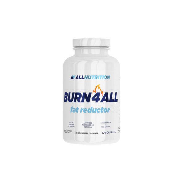 All Nutrition Burn4All 100 kaps unflavored