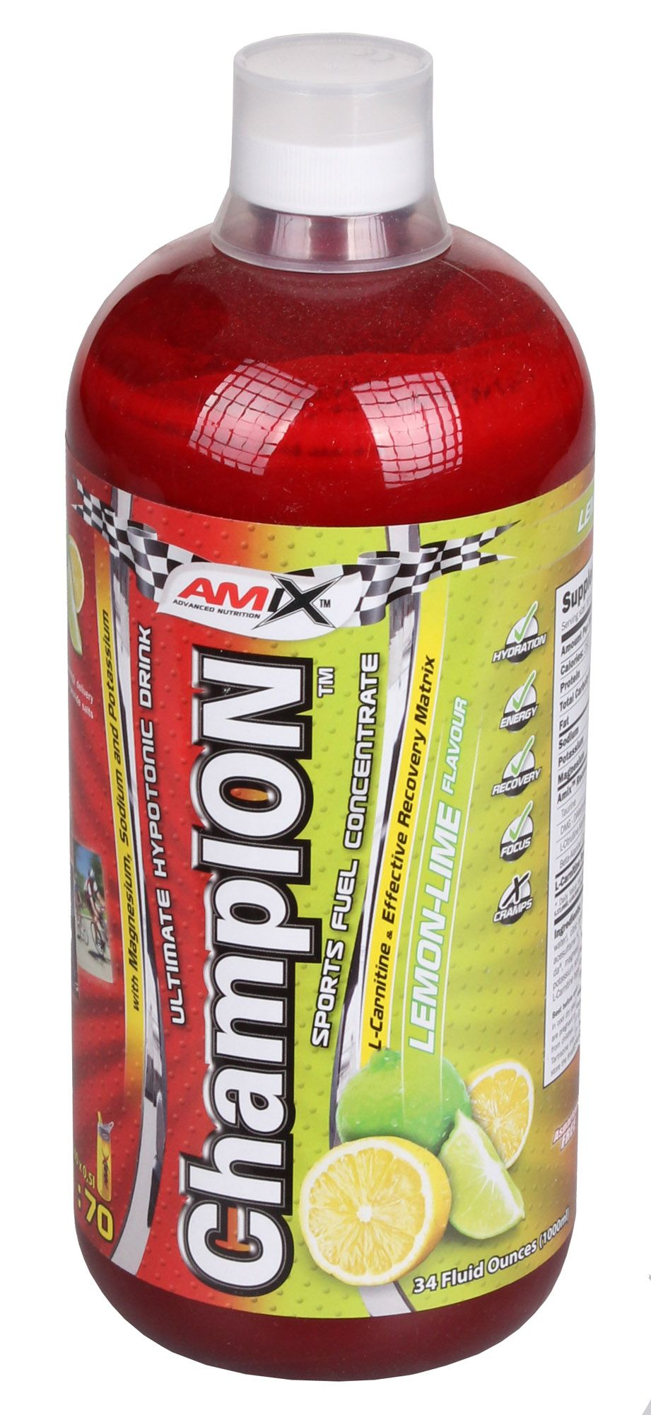 AMIX ChampION Sport Fuel Concentrate 1000 ml - pink grapefruit