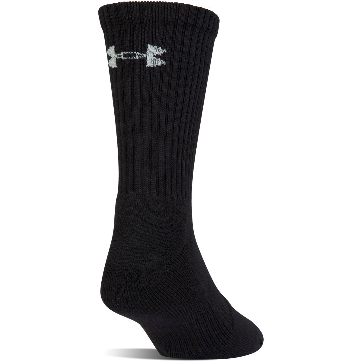 Under Armour Charged Cotton 2.0 Crew Black