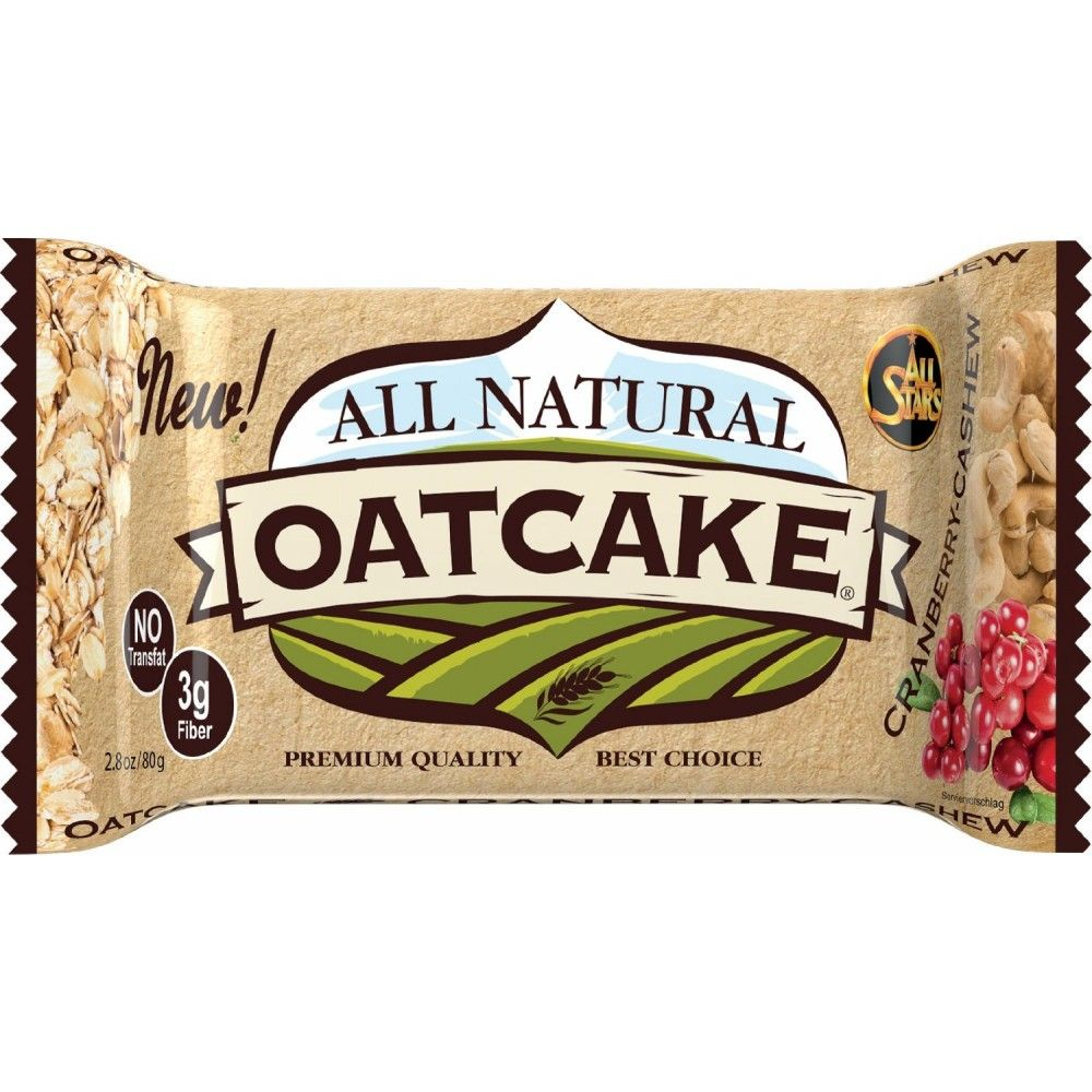 All Stars All Natural Oatcake 80 g - chocolate