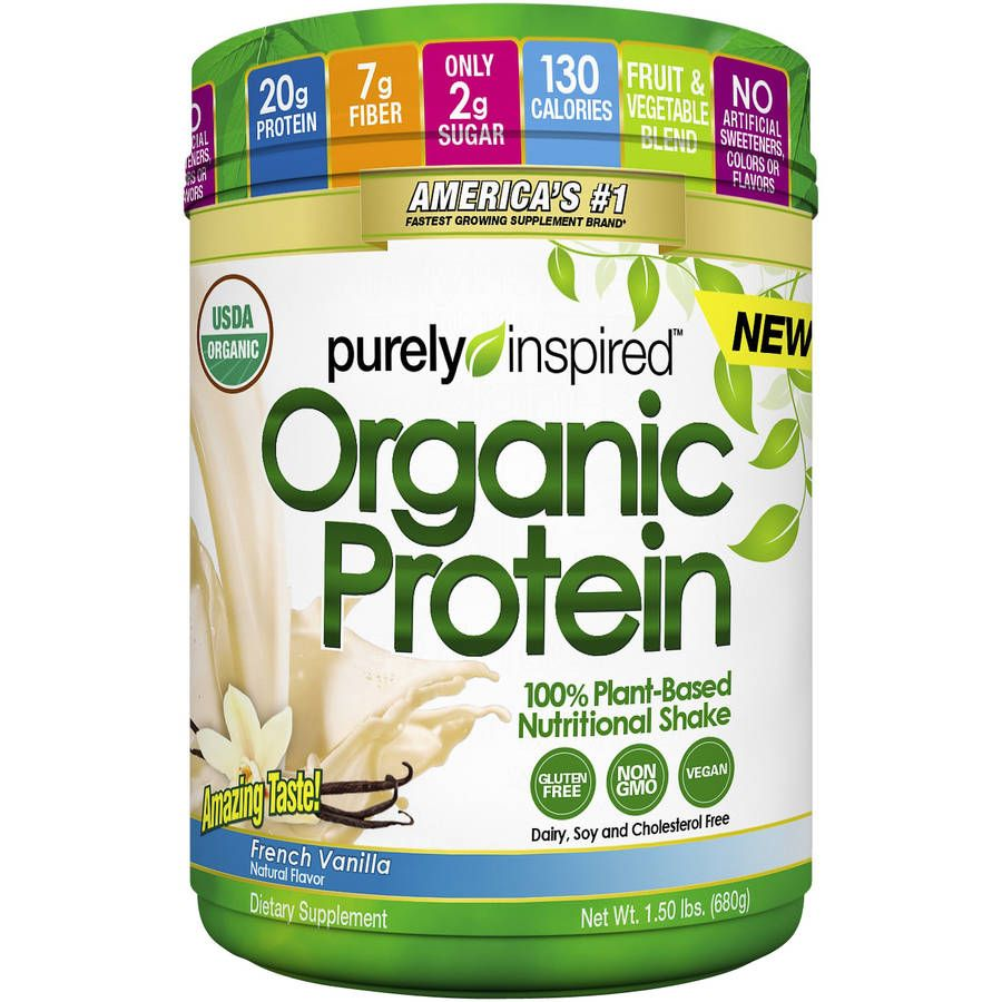 Purely Inspired Organic Protein 680 g - french vanilla