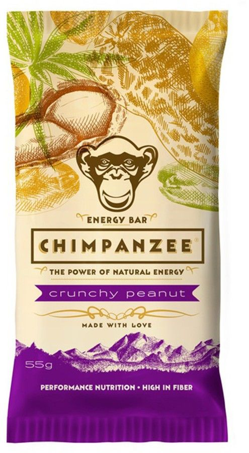 Chimpanzee Energy Bar 55 g - apricot