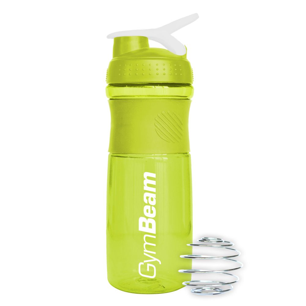 GymBeam Šejker Sportmixer Green White 760 ml