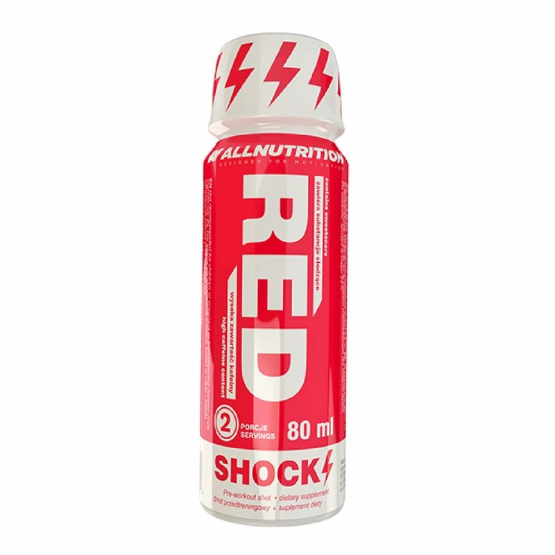 All Nutrition Red Shock Shot 80 ml