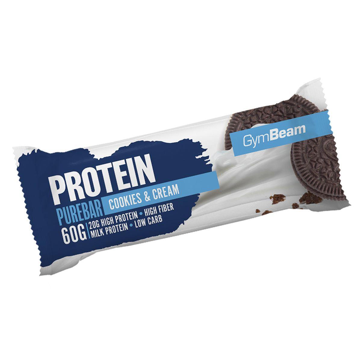 GymBeam Protein PureBar 60 g banana dream