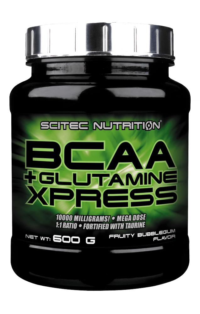 Scitec Nutrition BCAA + Glutamine Xpress 600 g - fruity bubblegum