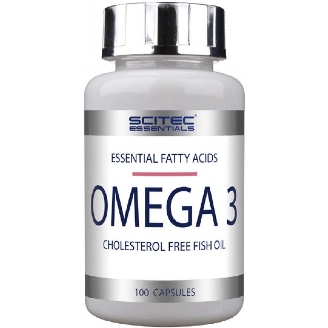 OMEGA 3 100 kaps - Scitec nutrition unflavored