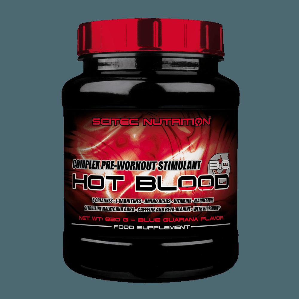 Scitec Nutrition Hot Blood 3.0 300 g orange juiced